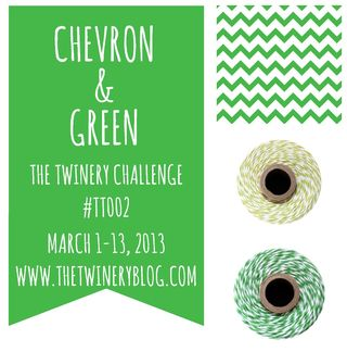 Chevron & Green Challenge Badge