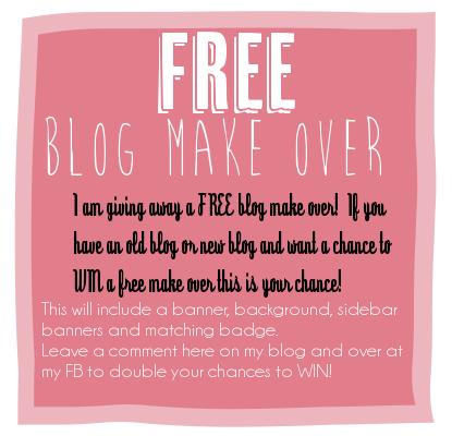 Blog Makeover Giveaway Blog