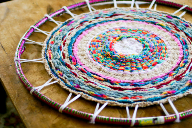 Hula hoop rug-3547