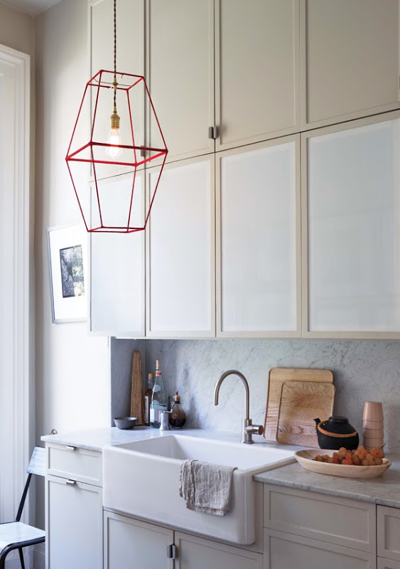 Lamp shade idea from HOW ABOUT ORANGE
