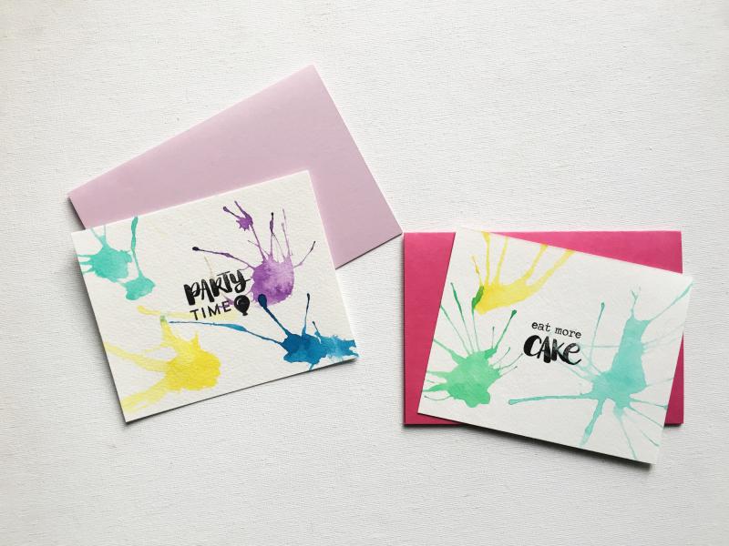 GIRLS CARDS - EAT MORE CAKE