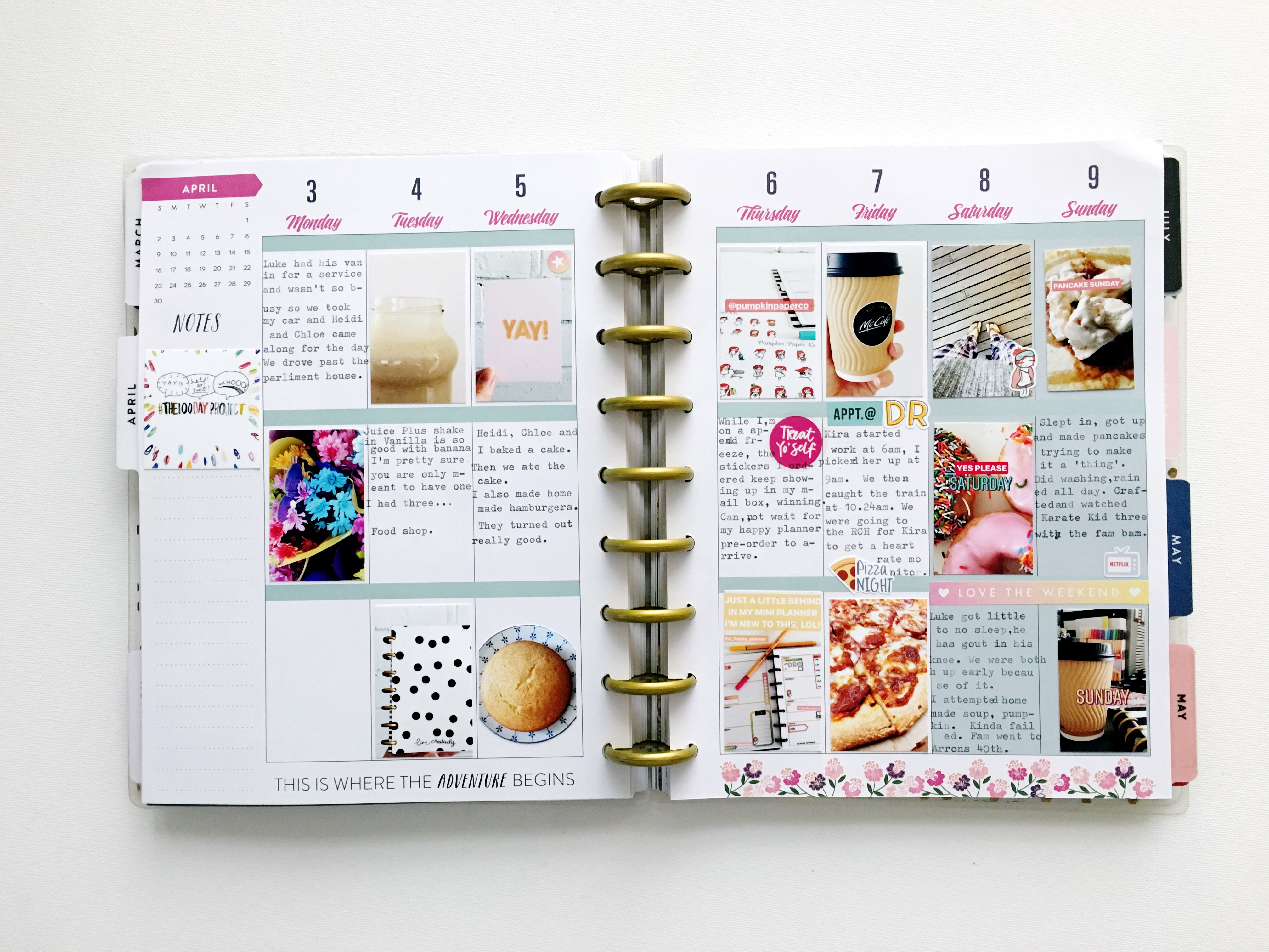 Kellie Winnell: happy planner