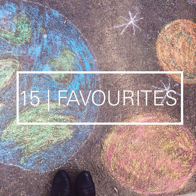 15 favourites July