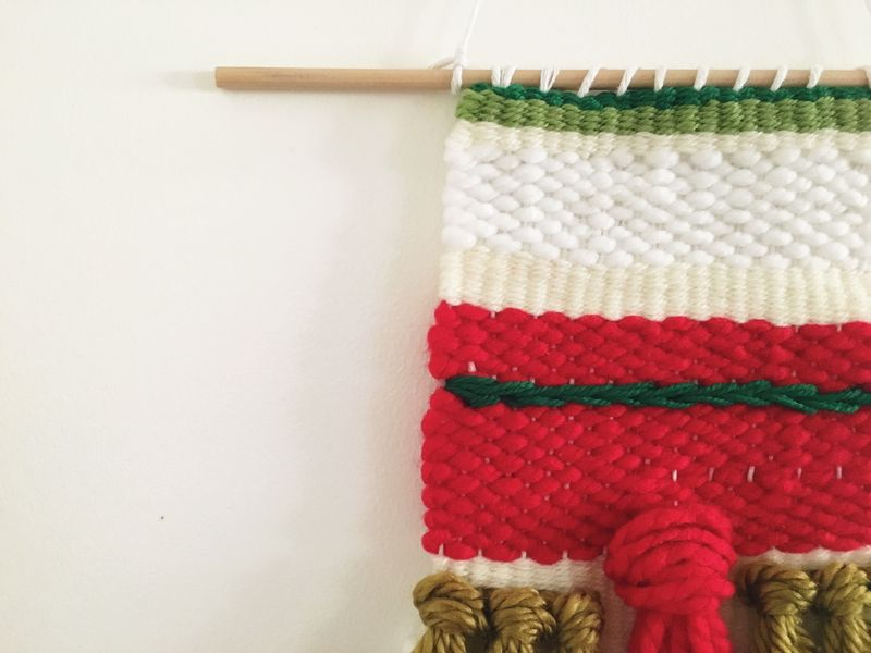 Xmas weave #1