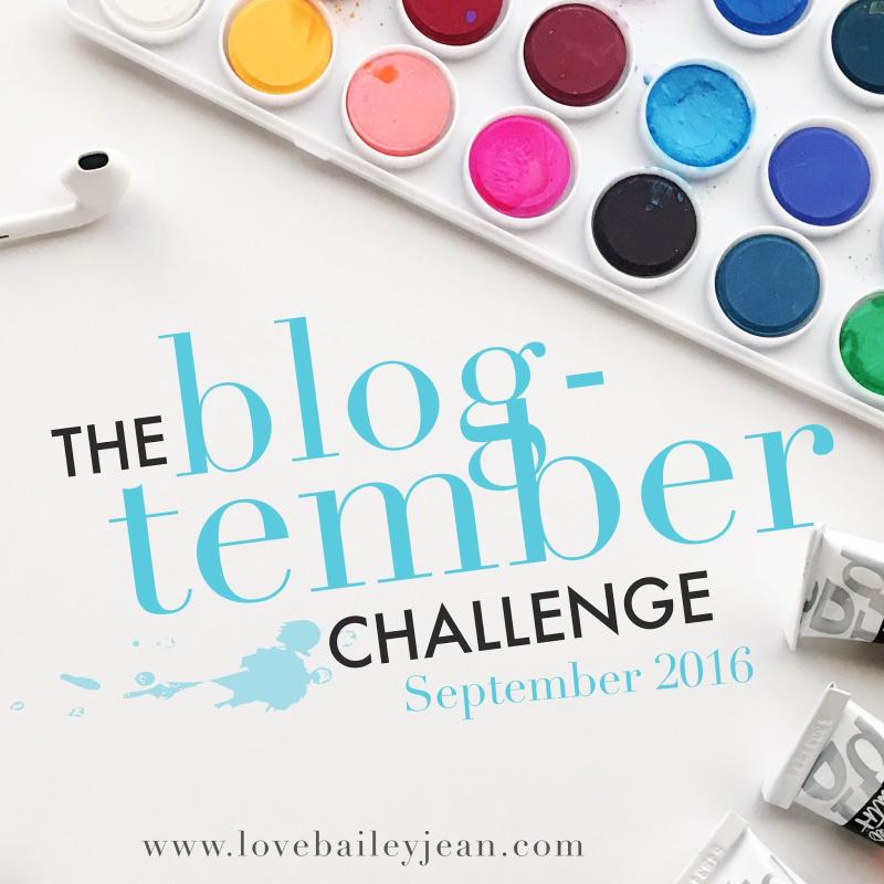 Blogtember2016