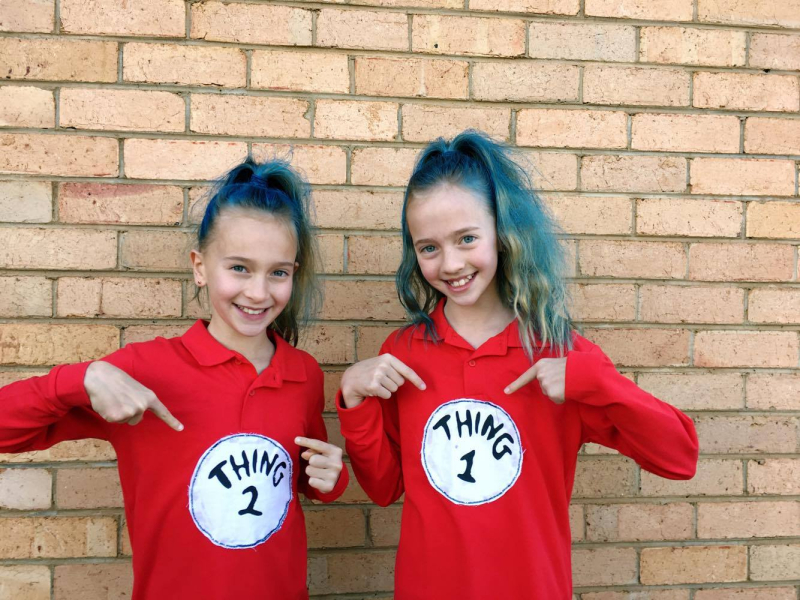 My girls had book week the other day. I know a lot of parents hear book  week and roll their eyes... I m one of them 894f18c00