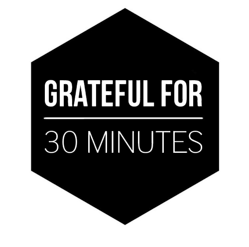 30 MINUTES FOR 30 DAYS LOGO
