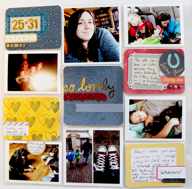 January 25-31 _ Pocket Scrapbooking 2015 _ The Nerd Nest 3