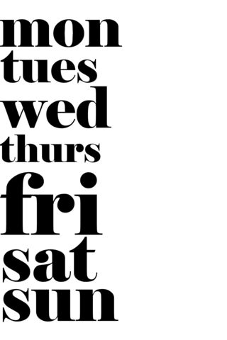 FREEBIE FRIDAY - KELLIE WINNELL - Monday - Friday