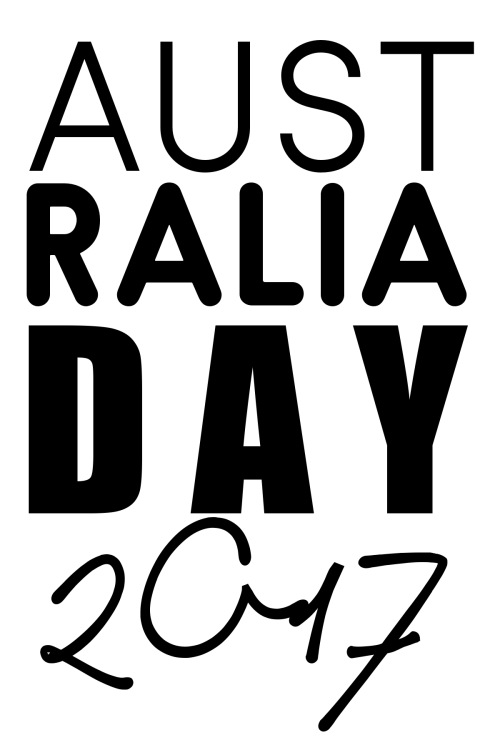 KELLIE WINNELL - FREEBIE - AUSTRALIA DAY 2017