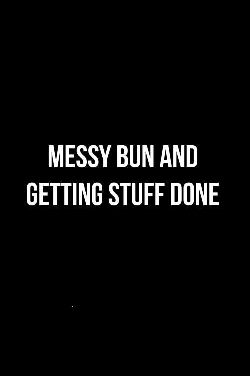 KELLIE WINNELL - FREEBIE - MESSY BUN_BLACK