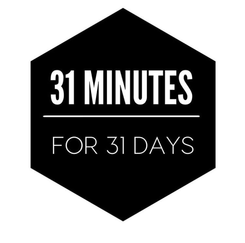 31 MINUTES FOR 31 DAYS LOGO