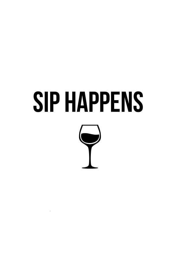 Sip Happens Wine Project Life Filler Card Freebie